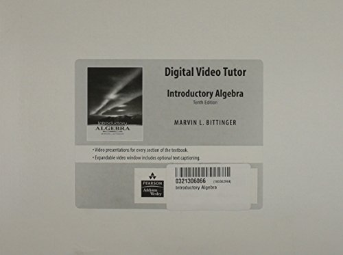 9780321306067: Introductory Algebra