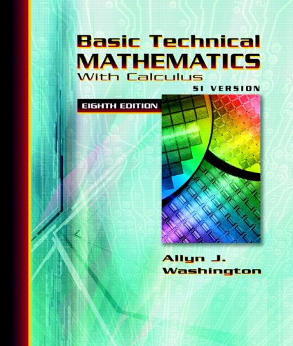 9780321306890: Basic Technical Mathematics with Calculus SI Version (8th Edition)