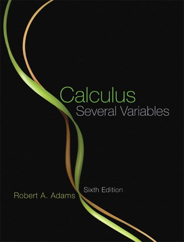 9780321307163: Adams Calc Several Variables