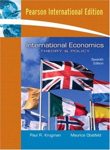 9780321311542: International Economics: Theory and Policy: International Edition