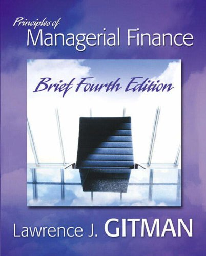 9780321311931: Principles Of Managerial Finance: Brief