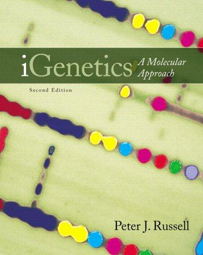 9780321312075: iGenetics: A Molecular Approach