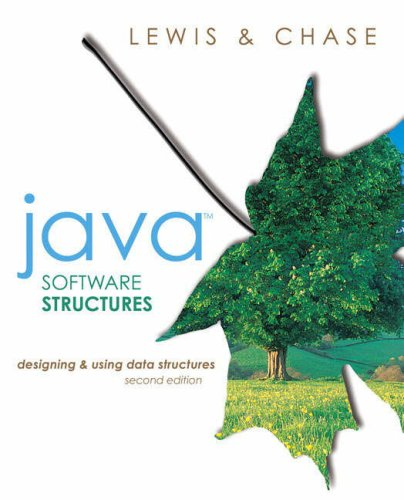 9780321312754: Java Software Structures: Designing and Using Data Structures: International Edition