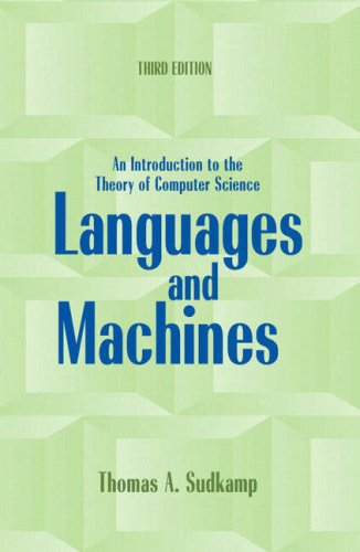 9780321315342: Languages and Machines: An Introduction to the Theory of Computer Science: International Edition