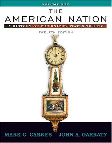 American Nation Volume 1