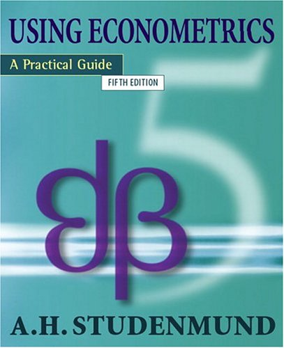 9780321316493: Using Econometrics: A Practical Guide (5th Edition)