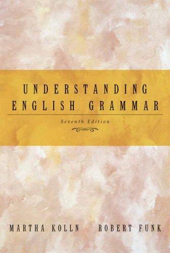 9780321316837: Understanding English Grammar