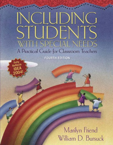 9780321317742: Including Students with Special Needs: A Practical Guide for Classroom Teachers (4th Edition)