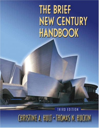 9780321318084: Brief New Century Handbook, The (with CD and MyCompLab) (3rd Edition) (MyCompLab Series)