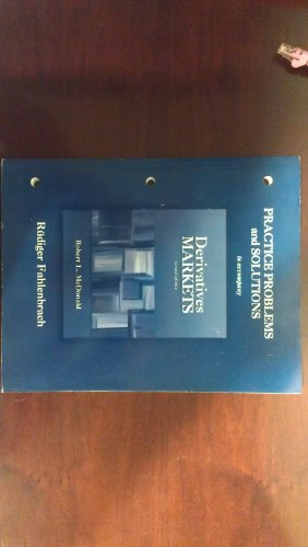 9780321318121: Practice Problems and Solutions to accompany Derivatives Markets