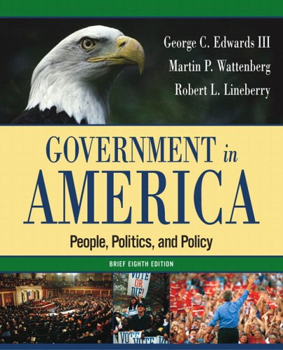 9780321318138: Government in America: People, Politics, and Policy, Brief Edition (8th Edition)