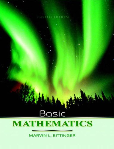 9780321319067: Basic Mathematics, 10th Edition (Bittinger Developmental Mathematics Series)
