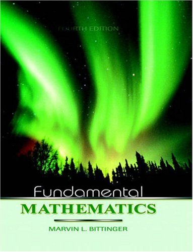 9780321319074: Fundamental Mathematics (4th Edition)