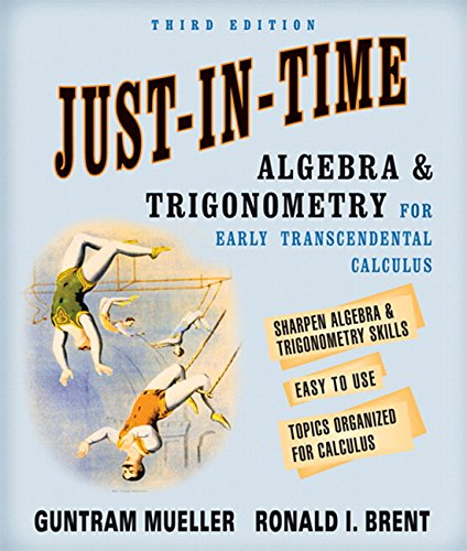 9780321320506: Just-In-Time Algebra and Trigonometry for Early Transcendentals Calculus (3rd Edition)