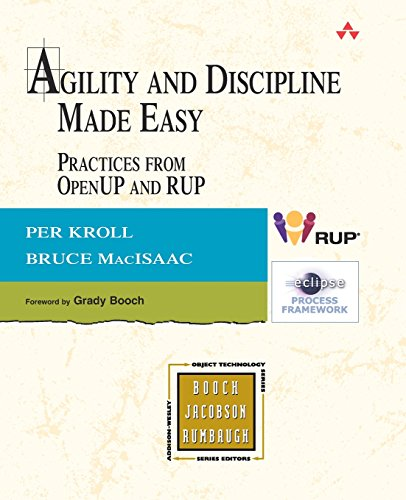 9780321321305: Agility and Discipline Made Easy: Practices from OpenUP and RUP