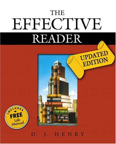 9780321321404: Effective Reader, The, Updated Edition