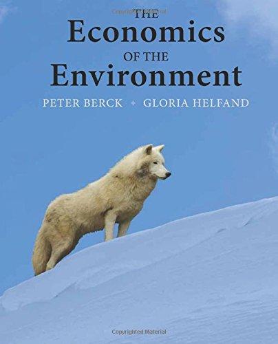 9780321321664: The Economics of the Environment