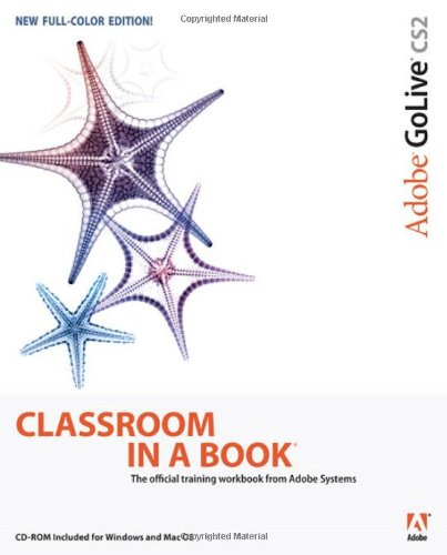 9780321321862: Adobe GoLive CS2 Classroom in a Book