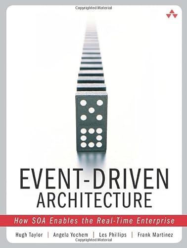 9780321322111: Event-Driven Architecture: How SOA Enables the Real-Time Enterprise: How SOA Enables the Real-Time Enterprise