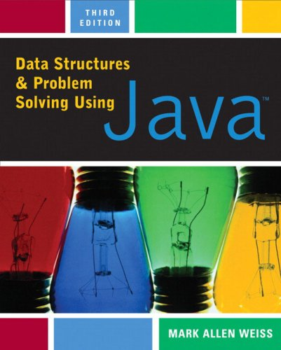 9780321322135: Data Structures and Problem Solving Using Java (3rd Edition)