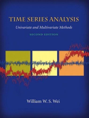 9780321322166: Time Series Analysis : Univariate and Multivariate Methods (2nd Edition)