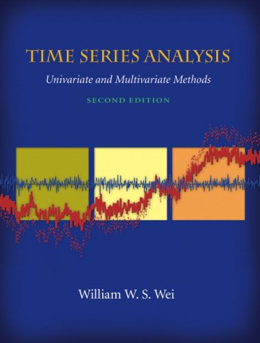 9780321322166: Time Series Analysis: Univariate And Multivariate Methods