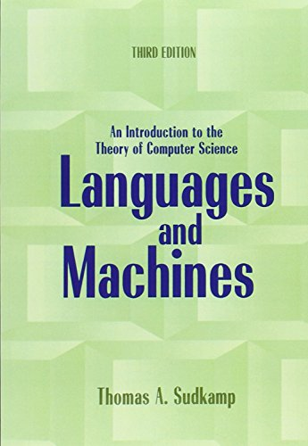 9780321322210: Languages and Machines: An Introduction to the Theory of Computer Science