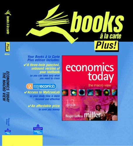 9780321322227: Economics Today: Macro View & Mel S/Acc Kit