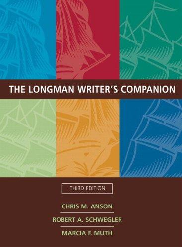 9780321323484: Longman Writer's Companion (with MyCompLab), The (3rd Edition) (MyCompLab Series)