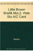 9780321328731: Little Brown Brief& McL2. Web Stu A/C Card