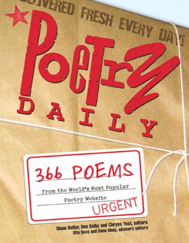9780321328960: Poetry Daily: 366 Poems from the World's Most Popular Poetry Website (from Sourcebooks, Inc.)