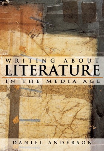 9780321329530: Writing About Literature in the Media Age (with CD-ROM)