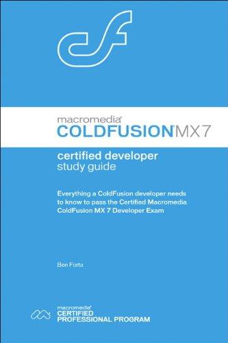 advanced macromedia coldfusion mx application development 3rd edition