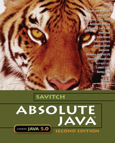 9780321330246: Absolute Java: AND Student Resource Disk
