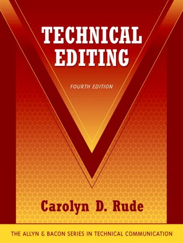 9780321330826: Technical Editing (4th Edition)
