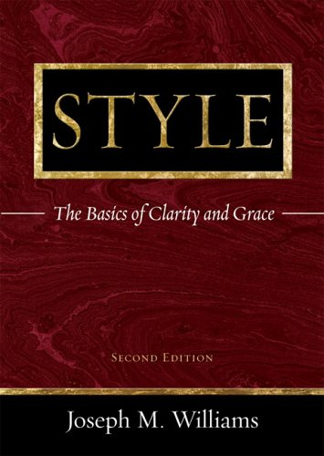 9780321330857: Style: The Basics of Clarity and Grace (2nd Edition)