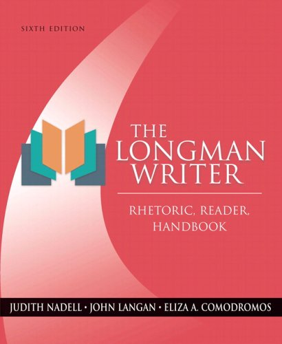 9780321331069: The Longman Writer