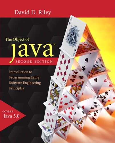 9780321331588: The Object of Java: Introduction to Programming Using Software Engineering Principles (Visual Quickstart Guides)