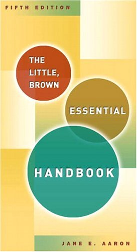 9780321331595: Little, Brown Essential Handbook, The (5th Edition)