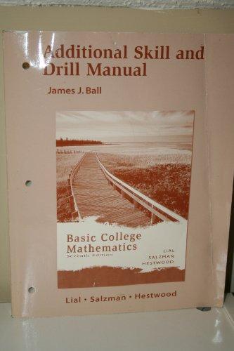 Additional Skill and Drill Manual: Stanley Salzman, Diana
