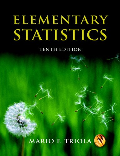 9780321331830: Elementary Statistics (10th Edition) (MyStatLab Series)