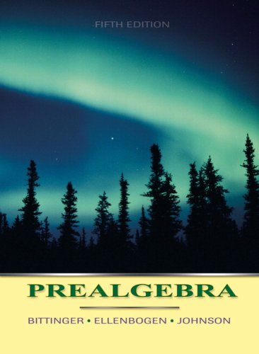9780321331908: Prealgebra (5th Edition)