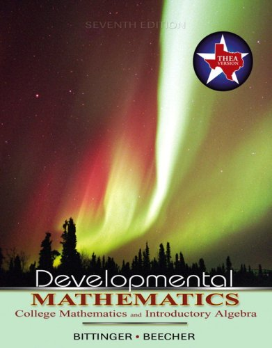 9780321331922: Developmental Mathematics THEA (7th Edition)