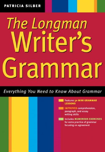 9780321333704: The Writer's Grammar: Everything You Need to Know About Grammar