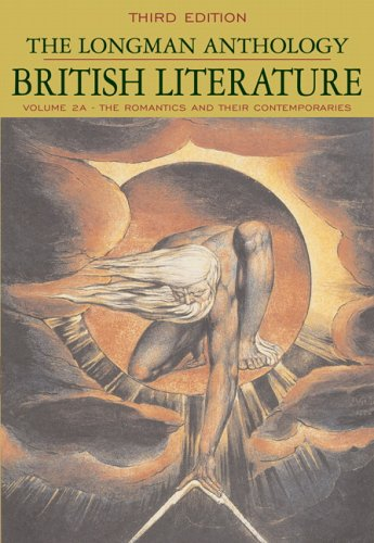 9780321333940: The Longman Anthology of British Literature, Volume 2A: The Romantics and Their Contemporaries