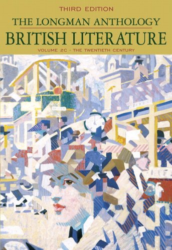 9780321333964: The Longman Anthology of British Literature, Volume 2C: The Twentieth Century