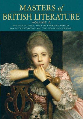 9780321333995: Masters of British Literature, Volume A