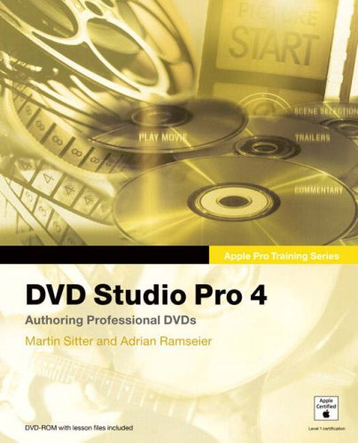 9780321334824: DVD Studio Pro 4 (Apple Pro Training)