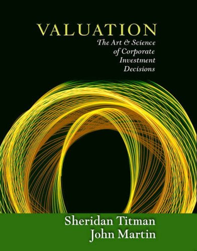 9780321336101: Valuation: The Art and Science of Corporate Investment Decisions