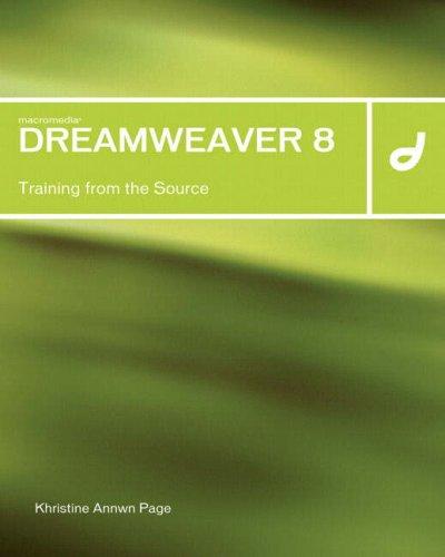 9780321336262: Macromedia Dreamweaver 8: Training from the Source